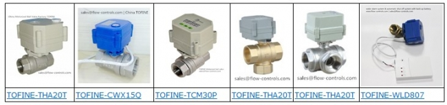 Question and Answer for TOFINE Motorized ball valves.