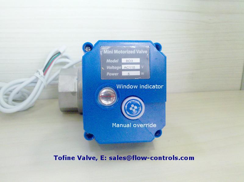 KLD KLD20S Electric Shut off Mini 2-way Motorized Ball Valve Automatic Control