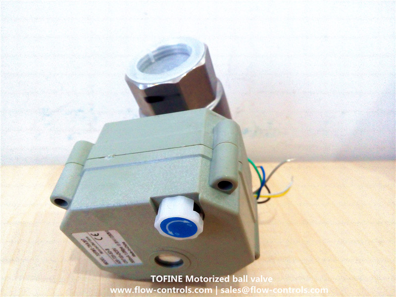 Full Port 1 Inch Stainless Automatic Shut Off Ball Valves