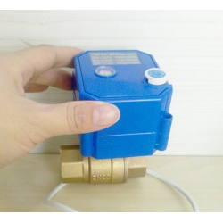 CWX-25S motorized ball valve with manual override