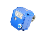2 way motorized valve with manual override