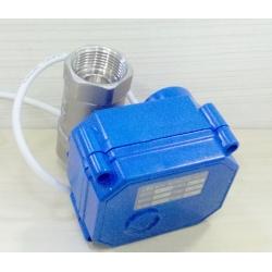 "1/2"",3/4"" stainless 3 wires automaticshut off valve"