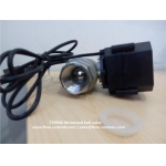 Full port Electric actuated ball valve equipped with prong plugs for Maple Syrup production