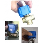 Mini 2 or 3 port motorized&electric ball valve for automatic water treatment
