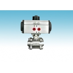 Pneumatic Stainless ball valve