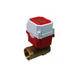 IC prepaid motorized ball valve