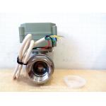 Full port 1 inch NPT Stainless automatic shut off ball valves