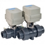 Electric&Motorized ball valve in PVC