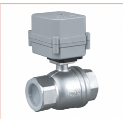 Larger size above 25mm Electric actuated ball valve