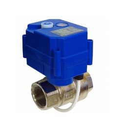Bleed-off valve of water cooling water system