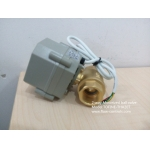 """3/4"""" 220VAC Brass 4-wire electric ball valves for automatic flow control"""
