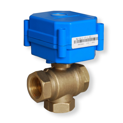 Electric actuated ball valve for 1 motorized ball valve