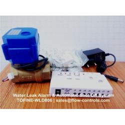 Water leak alarm & Automatic shut off system TOFINE-WLD806