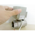Fail safe&Spring return electrically actuated ball valve