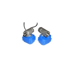 "Mini Stainless steel 1/2"" motorized ball valve"