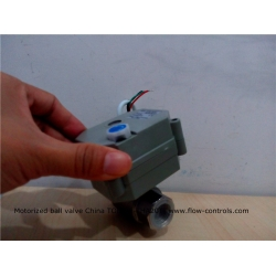 1/2 inch Stainless DC12V 3-wire CR3 02 motor driven ball valves