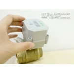 """1-1/4"""" Brass Motorized ball valve with Timer control"""