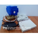 Water detection alarm & Automatic cut off system TOFINE-WLD807